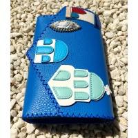 Santorini Leather Buildings Arhitecture Handsewn Bag